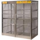16 Cylinder Vertical Gas Aluminum Storage Locker (Justrite® 23011)