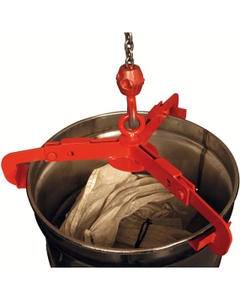Vertical Drum Lifter for 30-55 Gallon Open Head Drums (1000 lb. Capacity)