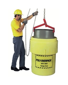 Salvage Drum Lifter for 55-85 Gallon Tight Head Steel Drums (1000 lb. Capacity)