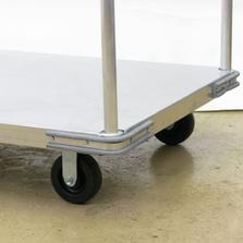 Corner Bumper Option for Aluminum Platform Trucks