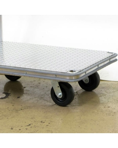 Perimeter Bumper Option for Aluminum Platform Trucks