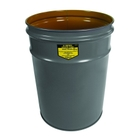 6 Gallon Gray Cease-Fire® Waste Receptacle Safety Drum Can