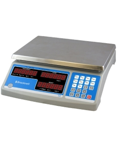 """11.5"""" x 13.1""""  x 4.3"""" 60 Lb. Capacity Electronic Counting Scale"""