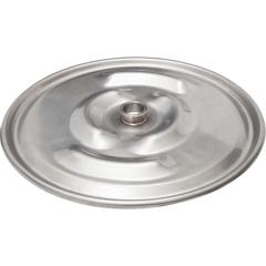 "22-1/2"" 304 Stainless Steel Lid w/ 2"" Weld Ferrule for Food Grade IBC Tanks"