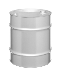 """20 Gallon Tight Head Stainless Steel Drum, UN Rated, 2"""" & 3/4"""" Fittings"""