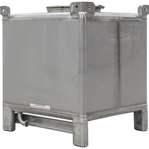 180 Gallon Food Grade Stainless Steel IBC Tank