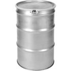 55 Gallon Stainless Steel Drum, Bolt Ring