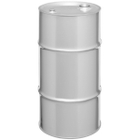 """16 Gallon Tight Head Stainless Steel Drum, UN Rated, 2"""" & 3/4"""" Fittings"""