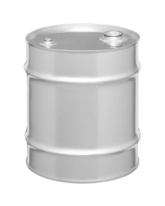 """8 Gallon Tight Head Stainless Steel Drum, UN Rated, 2"""" & 3/4"""" Fittings"""