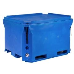 Polar® PB660 - 166 Gallon Insulated Bin w/Drain (21 cu ft)