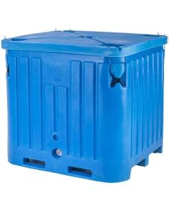 Polar® PB2145 - 258 Gallon Insulated Bin w/Drain (35 cu ft)