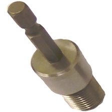 """Adaptor 1/4"""" Male Hex for Capping Machine Chuck"""