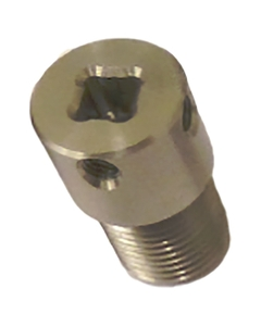 """Adaptor 1/4"""" Female Square for Capping Machine Chuck"""