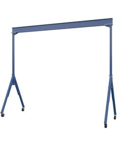 Adjustable Steel Gantry Crane, 6000 lb Capacity, 20' I-Beam, 14' Height_1