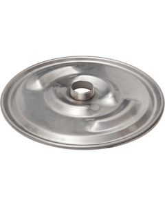 """22-1/2"""" 304 Stainless Lid w/ 3"""" Nipple for Stainless Steel IBC Tank"""