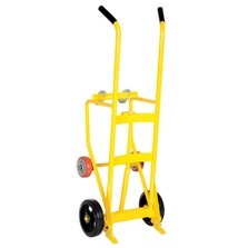 "Multi-Purpose Drum Truck/Cradle, 10"" Mold-on Rubber Wheels (for 55 Gallon Steel, Plastic or Fiber Drums)"