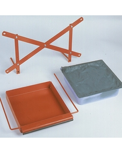 Drip Tray Kit w/ Plastic Absorbent Pan For Drum Cradles