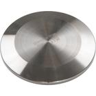 "2"" 304 Stainless Steel End Cap for 2 Weld Ferrule Food Grade IBC Tanks"