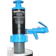 """GoatThroat™ Pump w/EPDM Seal & 4"""" Drum Standoff (Flammable Liquids Class 1 & 2)"""