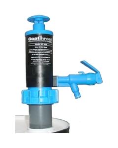 """GoatThroat™ Pump w/Santoprene Seal & 4"""" Drum Standoff (Flammable Liquids Class 1 & 2)"""