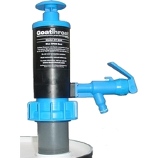 "GoatThroat™ Pump w/Santoprene Seal & 4"" Drum Standoff"