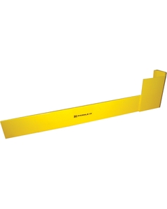 """48"""" x 12"""" Space Saving Right Hand Style Rack Protector"""