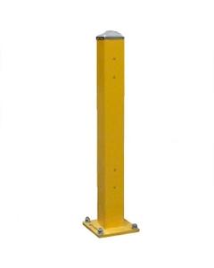 "43"" Heavy Duty Double Rail Post, Offset Column"