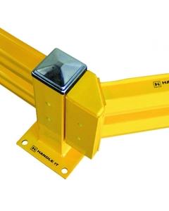 45° Angle Adapter for Medium/Heavy Duty Guard Rails