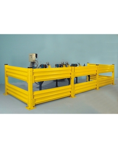 Lift-Out Safety Guard Rail