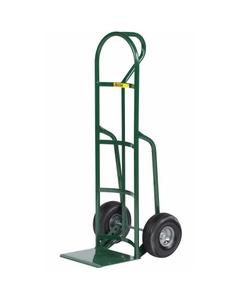 "Loop Handle Shovel Nose Drum Hand Truck, 10"" Pneumatic Wheels"