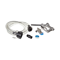 """IBC Kit with 8' Hose and Aluminum Nozzle for 2"""" Camlock Valves"""