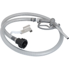 """IBC Kit with 8' Hose and Aluminum Nozzle for 2"""" 60 X 6 Valves"""