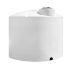 1,700 Gallon White HDPE Vertical Storage Tank