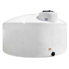 550 Gallon White HDPE Vertical Storage Tank