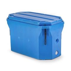Polar® PB1801 - 65 Gallon Insulated Bin w/Drain (9 cu. ft.)