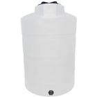 1,500 Gallon White HDPE Vertical Storage Tank