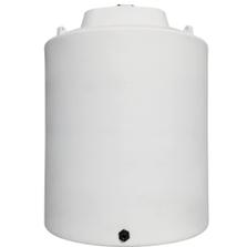 5,000 Gallon White HDPE Vertical Storage Tank
