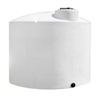 2,100 Gallon White HDPE Vertical Storage Tank