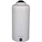 300 Gallon White HDPE Vertical Storage Tank