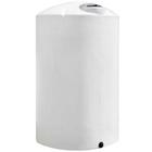 6,000 Gallon White HDPE Vertical Storage Tank