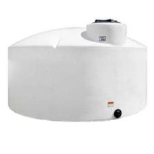 "1,550 Gallon White HDPE Vertical Storage Tank, 87"" x 67"""