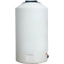 165 Gallon White HDPE Vertical Storage Tank