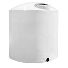 4,000 Gallon White HDPE Vertical Storage Tank