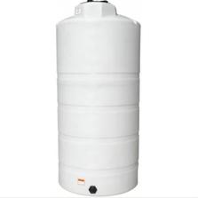 750 Gallon White HDPE Vertical Storage Tank