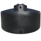 1,550 Gallon Black HDPE Vertical Water Storage Tank