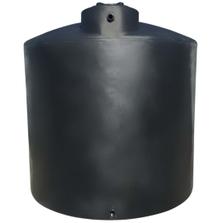 5,000 Gallon Black HDPE Vertical Water Storage Tank