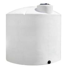 7,800 Gallon White HDPE Vertical Storage Tank