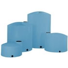 7,800 Gallon Blue HDPE Vertical Storage Tank (Heavy Weight)