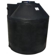 305 Gallon Black HDPE Vertical Water Storage Tank