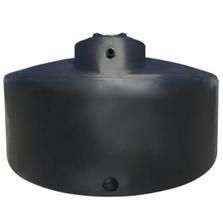 550 Gallon Black HDPE Water Storage Tank
